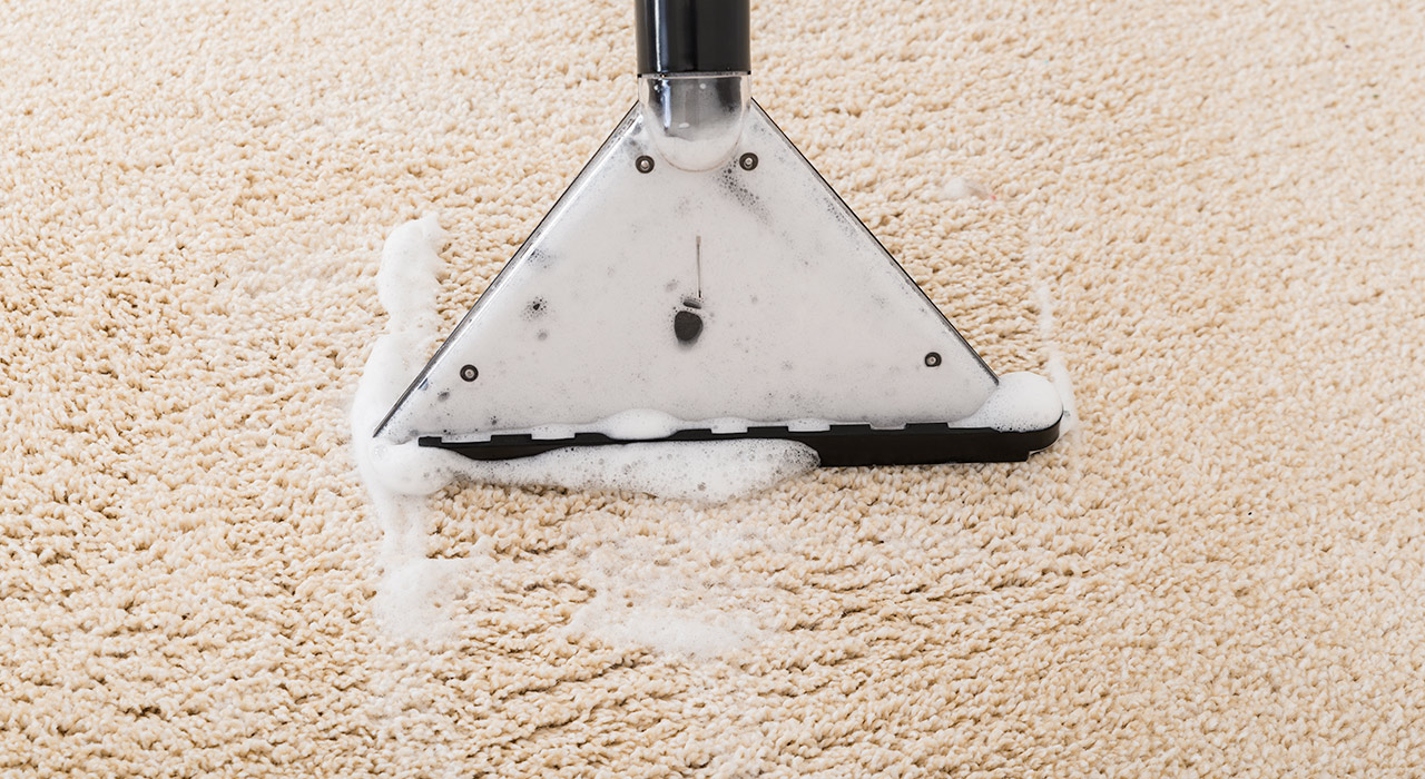 residue free carpet cleaning